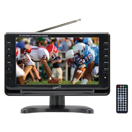 Supersonic SC-499 9″ Widescreen Portable Digital LCD TV with Built-in TV Tuner