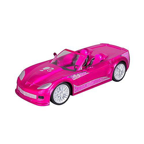 Barbie Crusin Convertible Corvette Radio Control Car Pink by Mattel