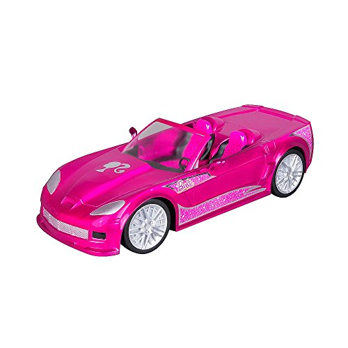 Barbie Crusin Convertible Corvette Radio Control Car - Pink