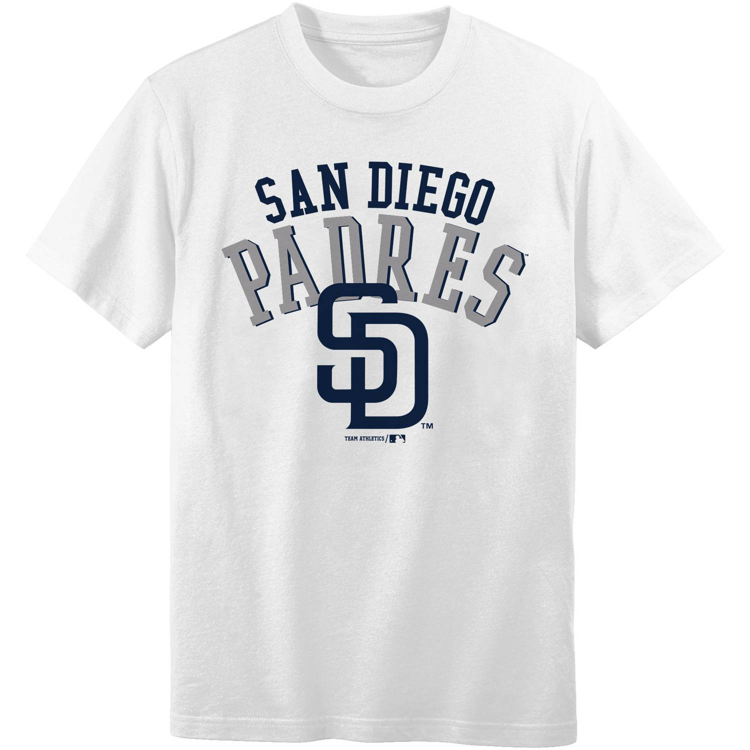 MLB San Diego Padres Boys 4-18 Short Sleeve Alternate Color Tee Team
