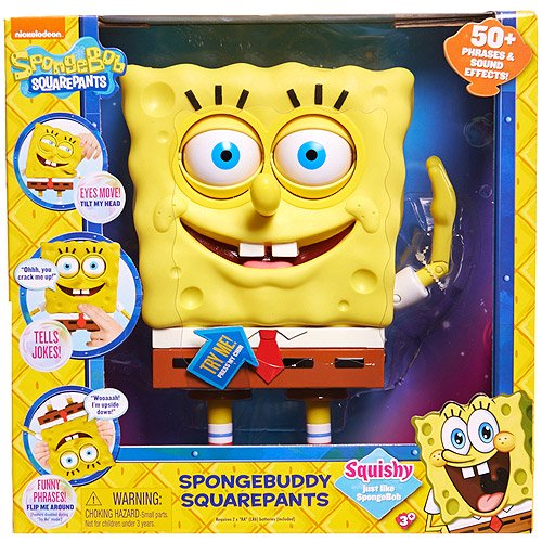Nickelodeon SpongeBob SpongeBuddy SquarePants - Walmart com