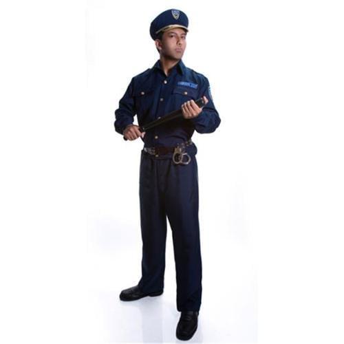 Dress Up America 330-XXL Adult Police Officer Costume - Size XXLarge