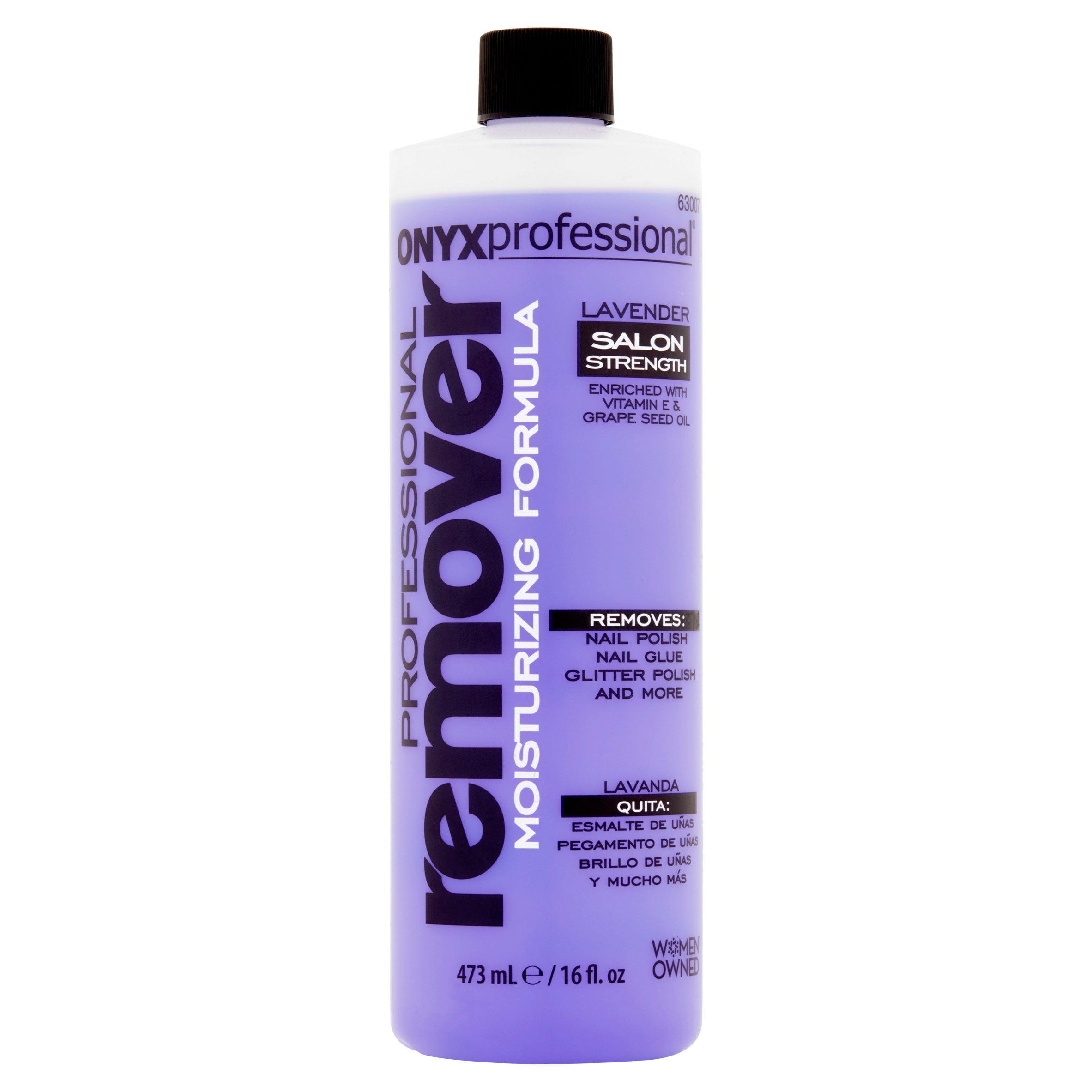 Onyx Professional Moisturizing Formula Lavender Nail Polish Remover 16 Fl Oz Walmart Com