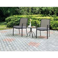 Mainstays Oakmont Meadows 3-Piece Bistro Set (2 Seats)
