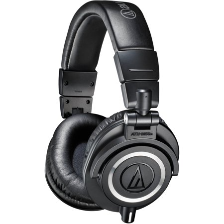 Audio-Technica ATH M50x Professional Monitor Headphones, Available in Multiple (Closed Back Professional Monitor Headphone)