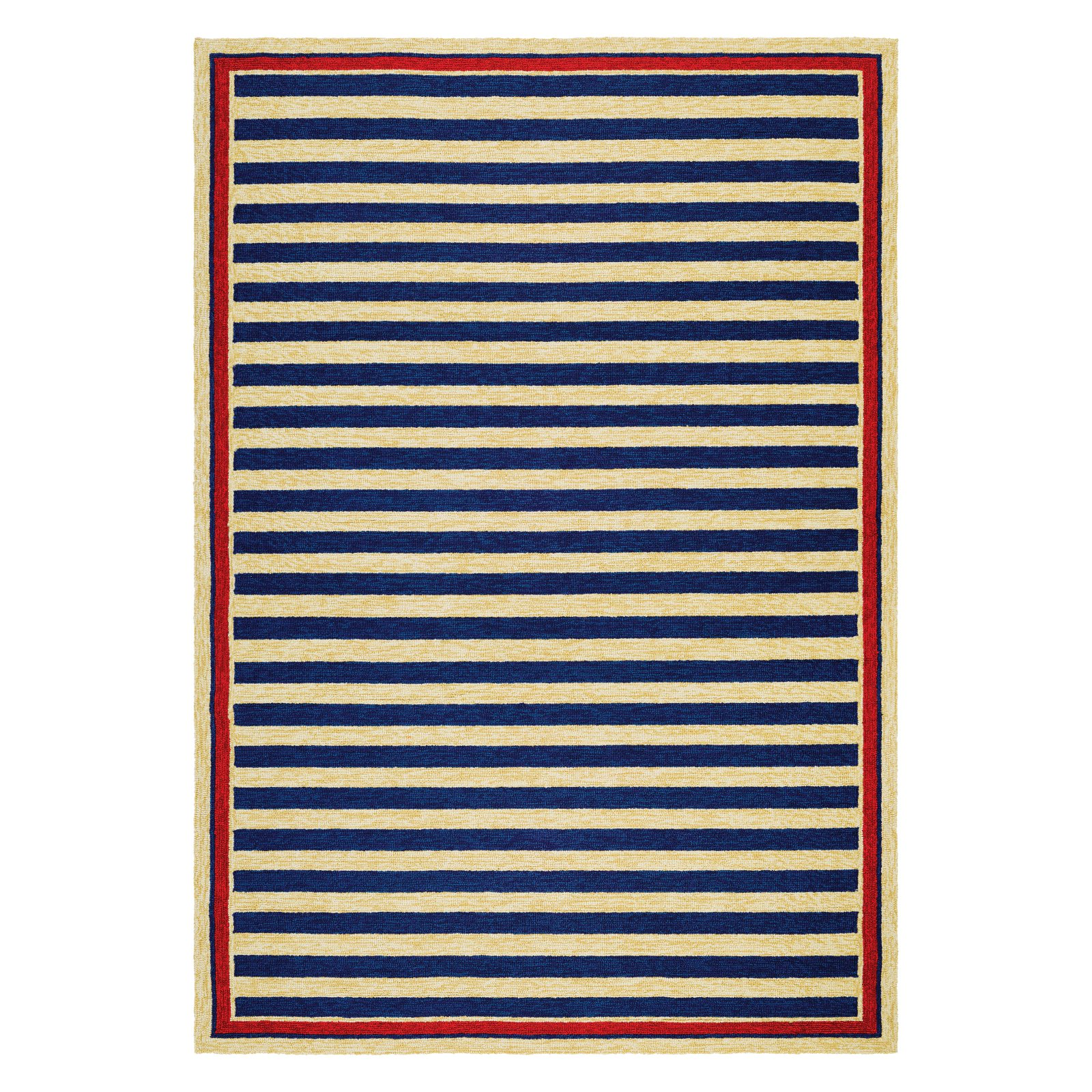 Couristan Americana Striped Indoor/Outdoor Area Rug