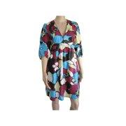 Womens 'Jackson' V-Neck V Dress, Blue, Size M/40