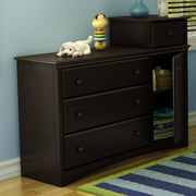 South Shore Angel Combo Storage Unit, Espresso
