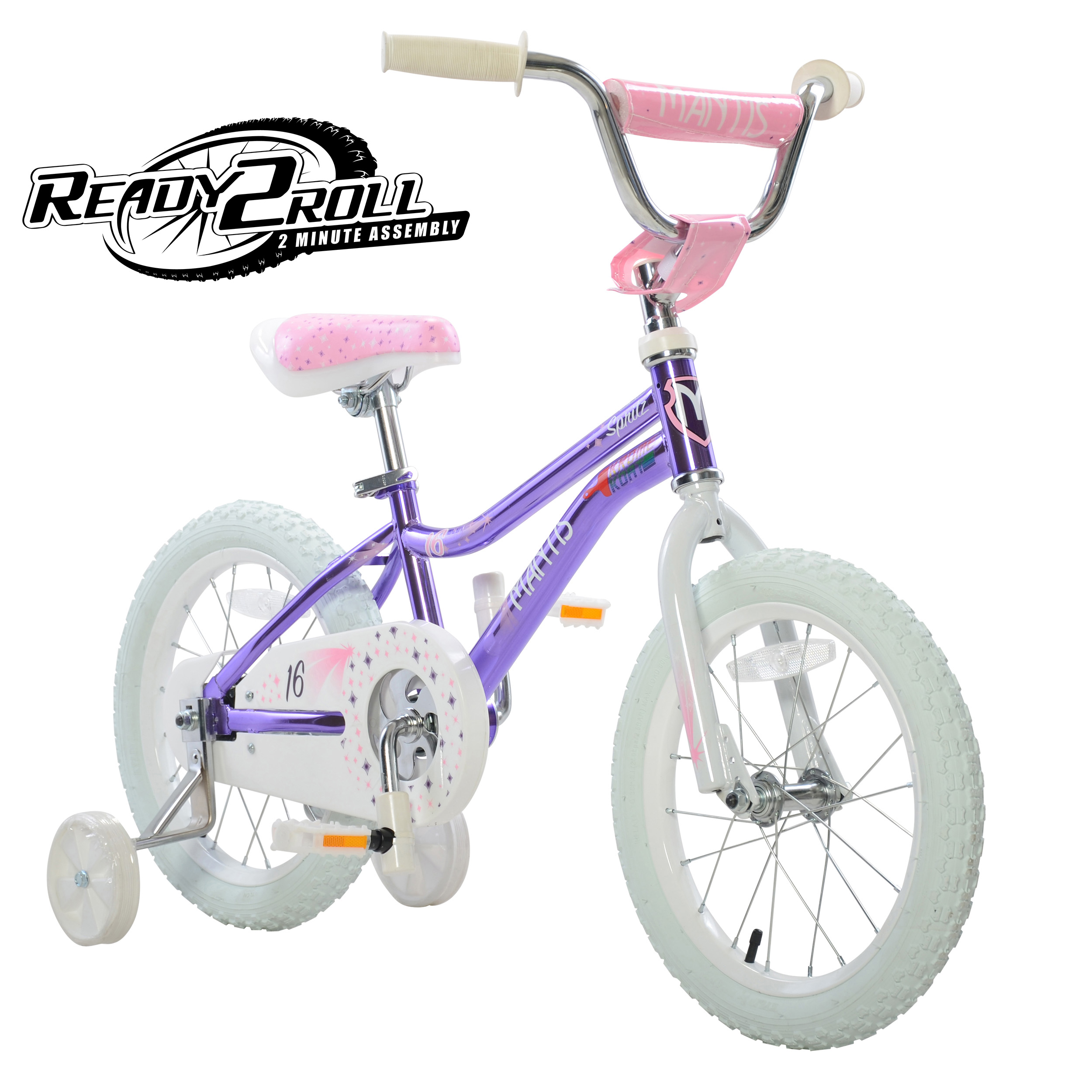Spritz Violet Ready2Roll 16 inch Kids Bicycle