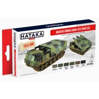 Red Line (Airbrush-Dedicated): Modern Finnish Army AFV Since 1959 Paint Set (6 Colors) 17ml Bottles