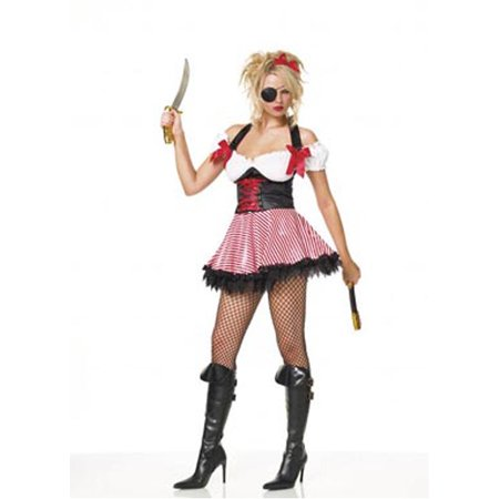 Adult Sexy Pirate Wench Costume Leg Avenue 83088 - Leg Avenue Pirate Wench Costume