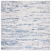 Safavieh  Amelia Modern & Contemporary Abstract Ivory/Blue Rug