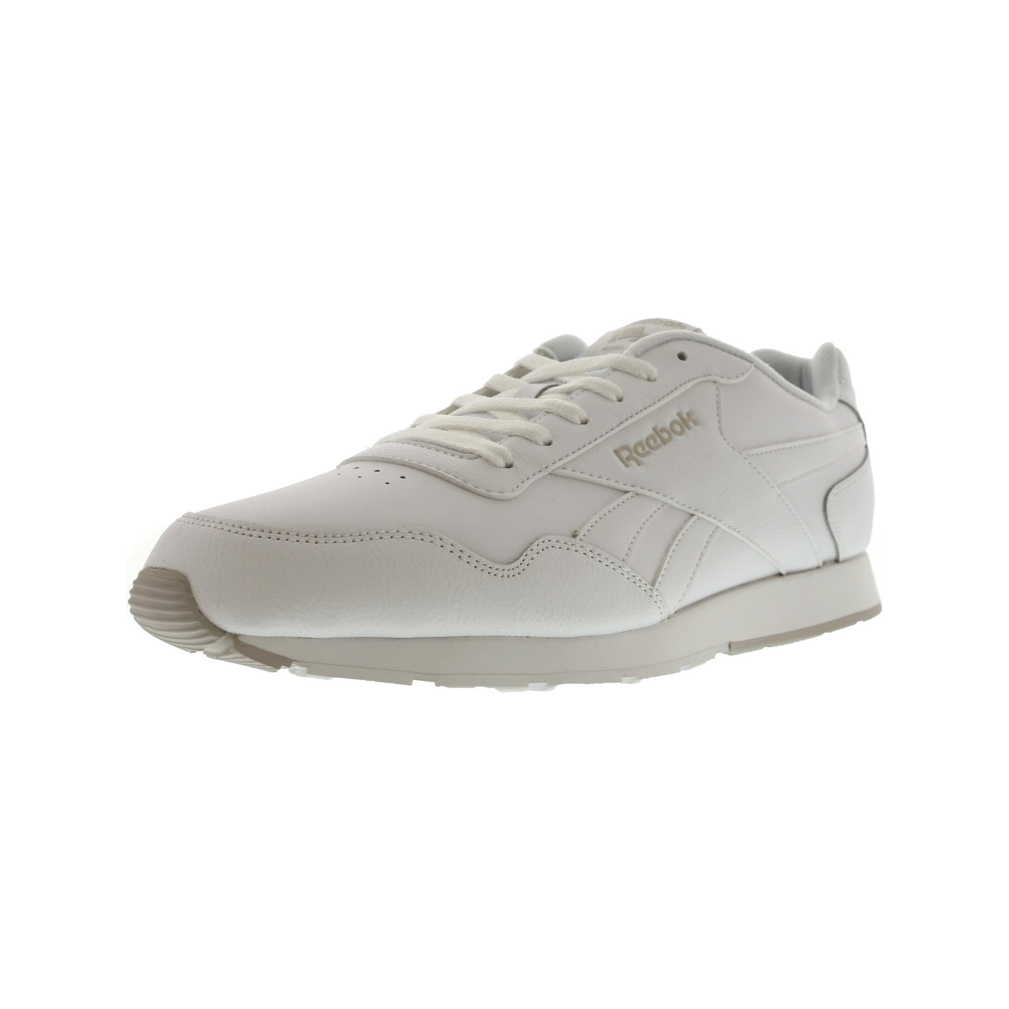 53d9897b Reebok Men's Royal Glide White / Steel Ankle-High Leather Fashion Sneaker -  13M