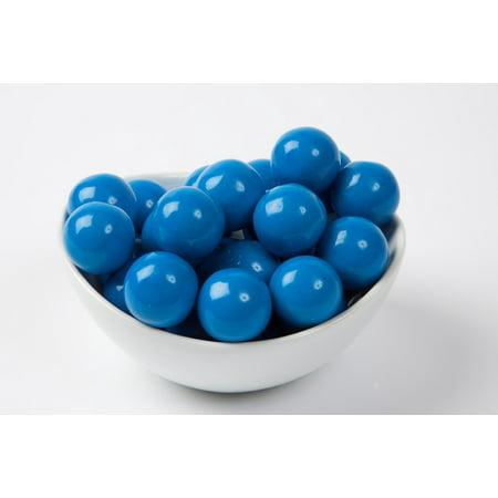 Blue Gourmet Gumballs (4 Pound Bag) - Blue Gum Balls