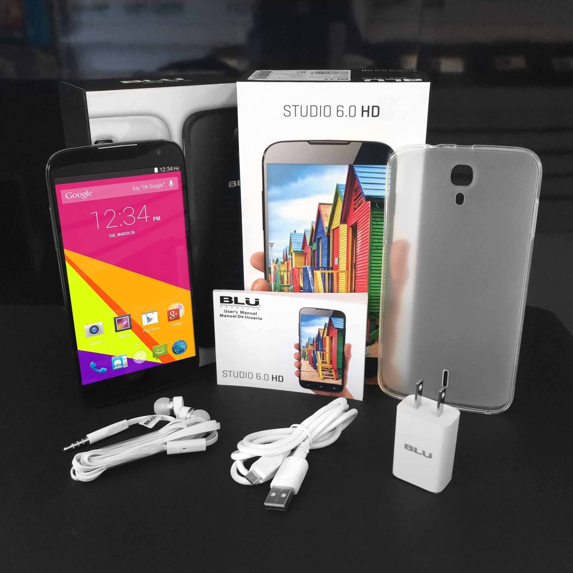 BLU Studio 6 0 HD D65IU GSM Dual SIM Quad Core Smartphone Unlocked Walmart