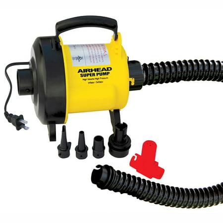Kwik Tek Airhead 120 Volts/ 917 Watts Super Air Pump, Yellow |