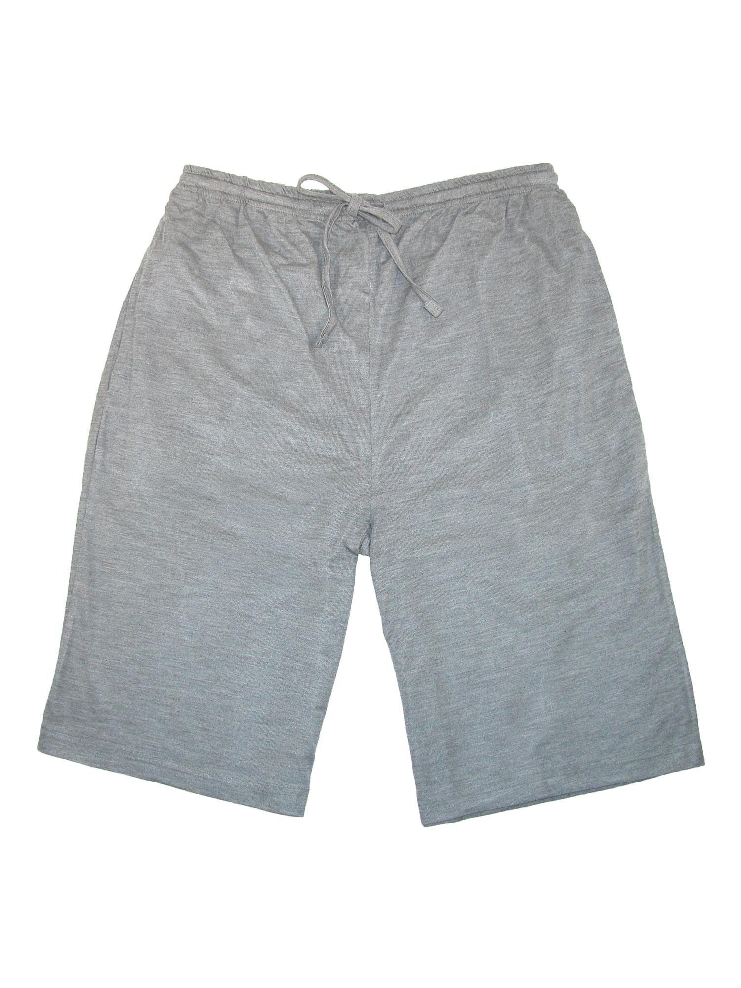 Ten West Apparel Men's Knit Men's Sleep Shorts with Pockets