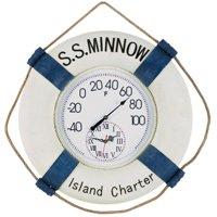 S.S. Minnow Fahrenheit Clock and Thermometer