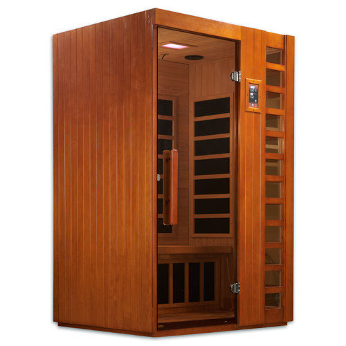 Dynamic Infrared Puretech Low EMF 2 Person FAR Infrared Sauna by Golden Designs