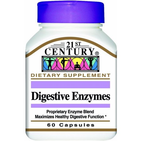 21st Century Digestive Enzymes Capsules 60 ea ()