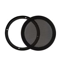 "Goldwood Sound SGM6 Heavy Duty Steel Mesh Snap On Woofer Grill for 6.5"" Speaker"