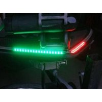 Bass Boat LED Bow Lighting Red & Green Navigation Lights Marine Ranger Triton
