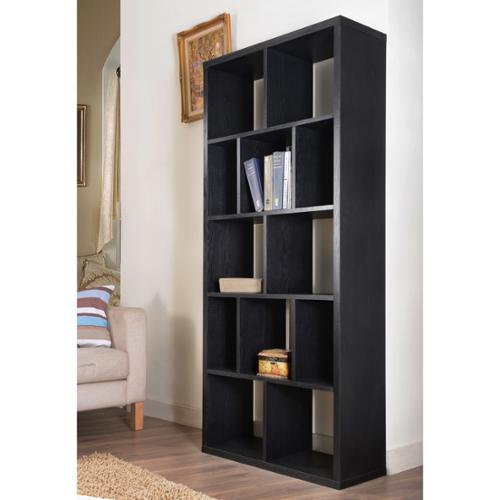 Furniture of America Nordic Cubbyhole Bookcase/ Display Shelf Black