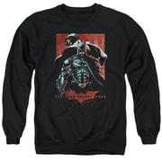 Dark Knight Rises Batman & Bane Mens Crewneck Sweatshirt