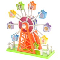 Bisontec Electronic Ferris Wheel Toy With Music And Lights