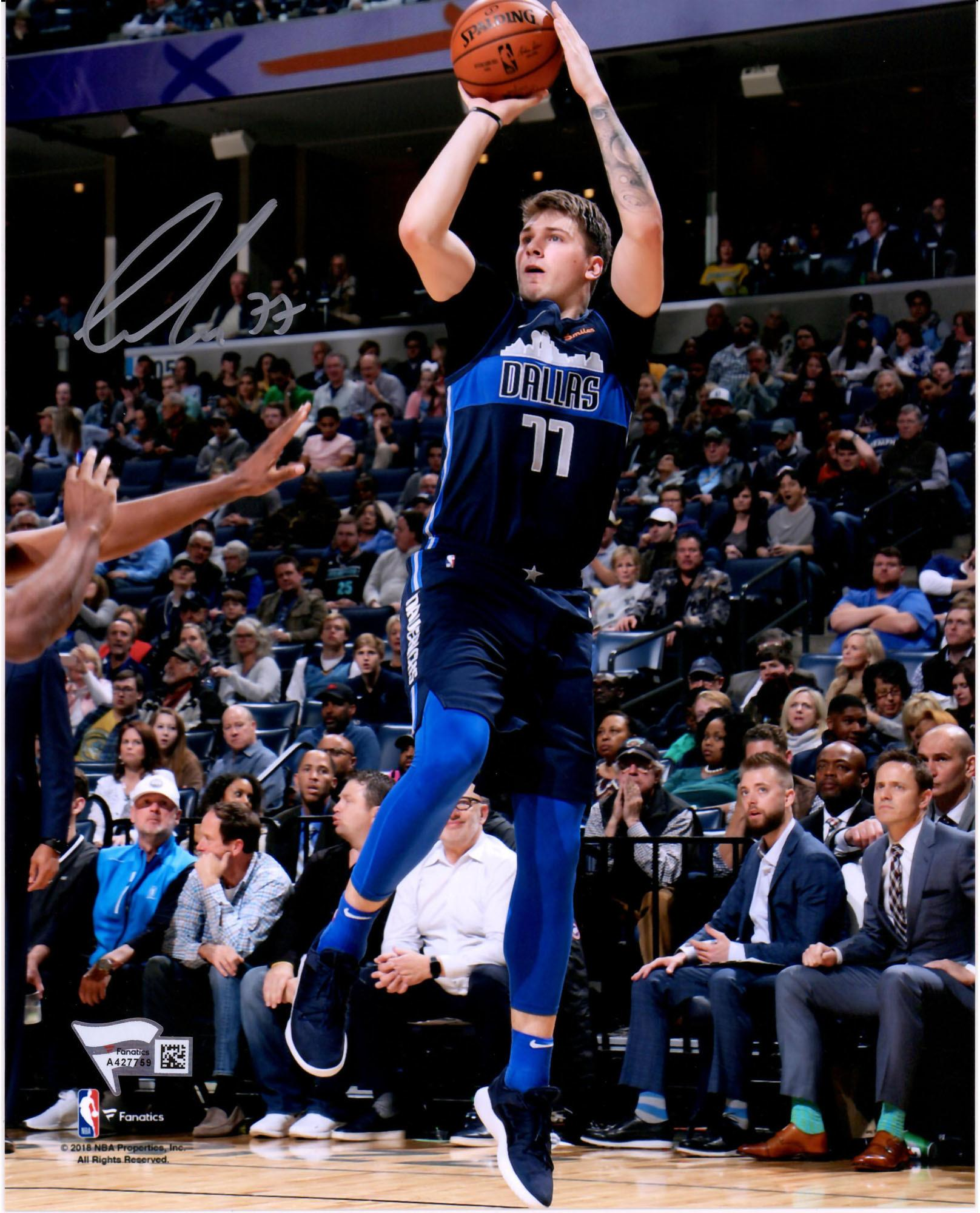 Fanatics Authentic Luka Doncic Dallas Mavericks Autographed 8 X 10 Fade Away Photograph Fanatics Authentic Certified Walmart Com Walmart Com