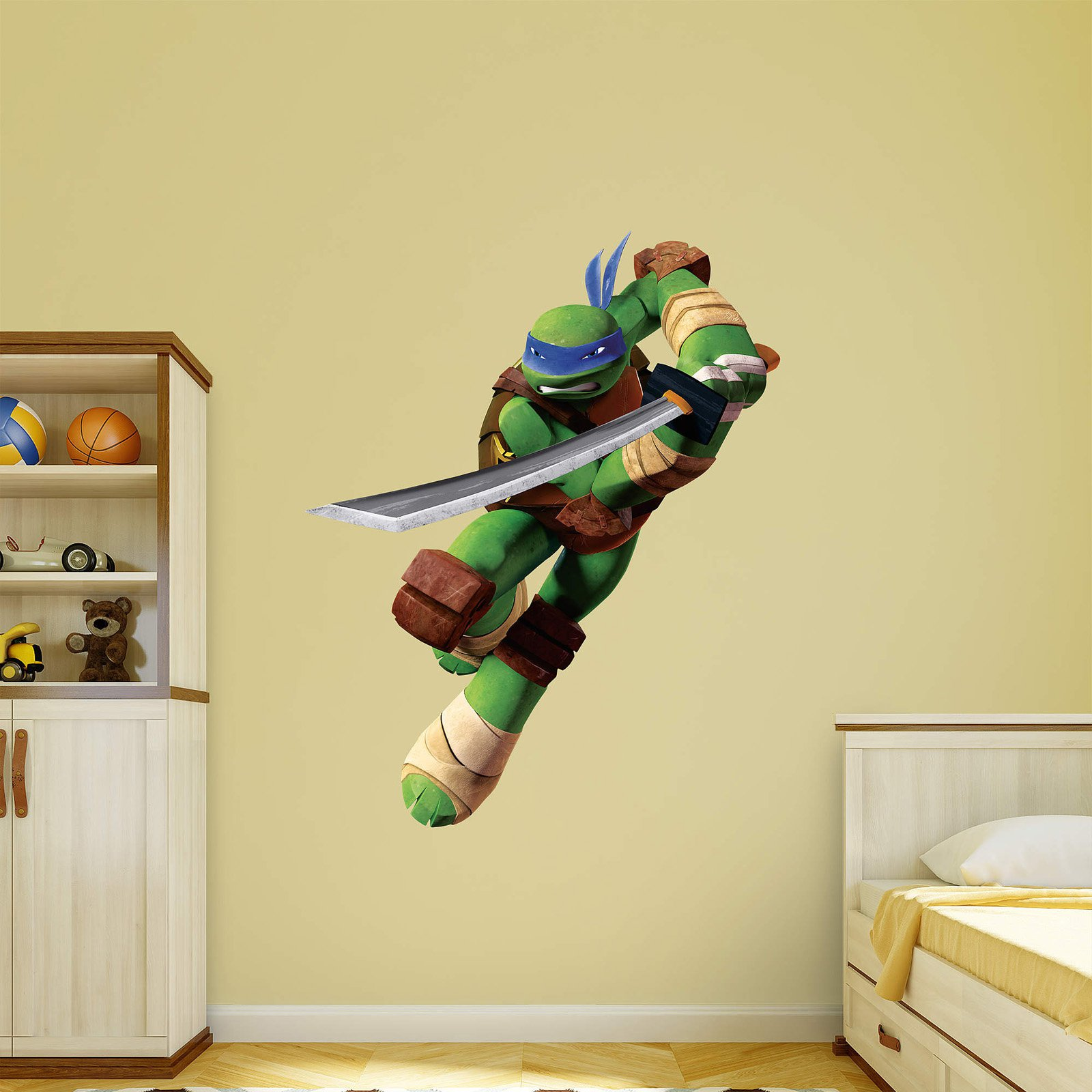 Fathead Teenage Mutant Ninja Turtles - Leonardo Wall Decal