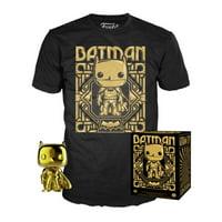 Batman POP! Collectors Box Gold POP! & T-Shirt Exclusive (Size Large shirt)