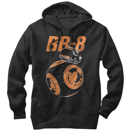 Star Wars The Force Awakens Mens Bb 8 On The Move Hoodie