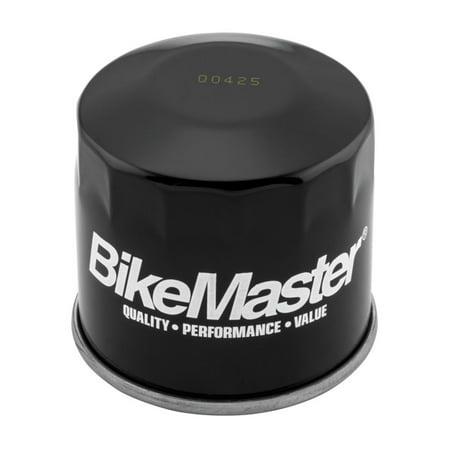 Kawasaki Mean Streak Backrest (BikeMaster Black Oil Filter for Kawasaki VN1500 Vulcan Mean Streak 2002-2003 )