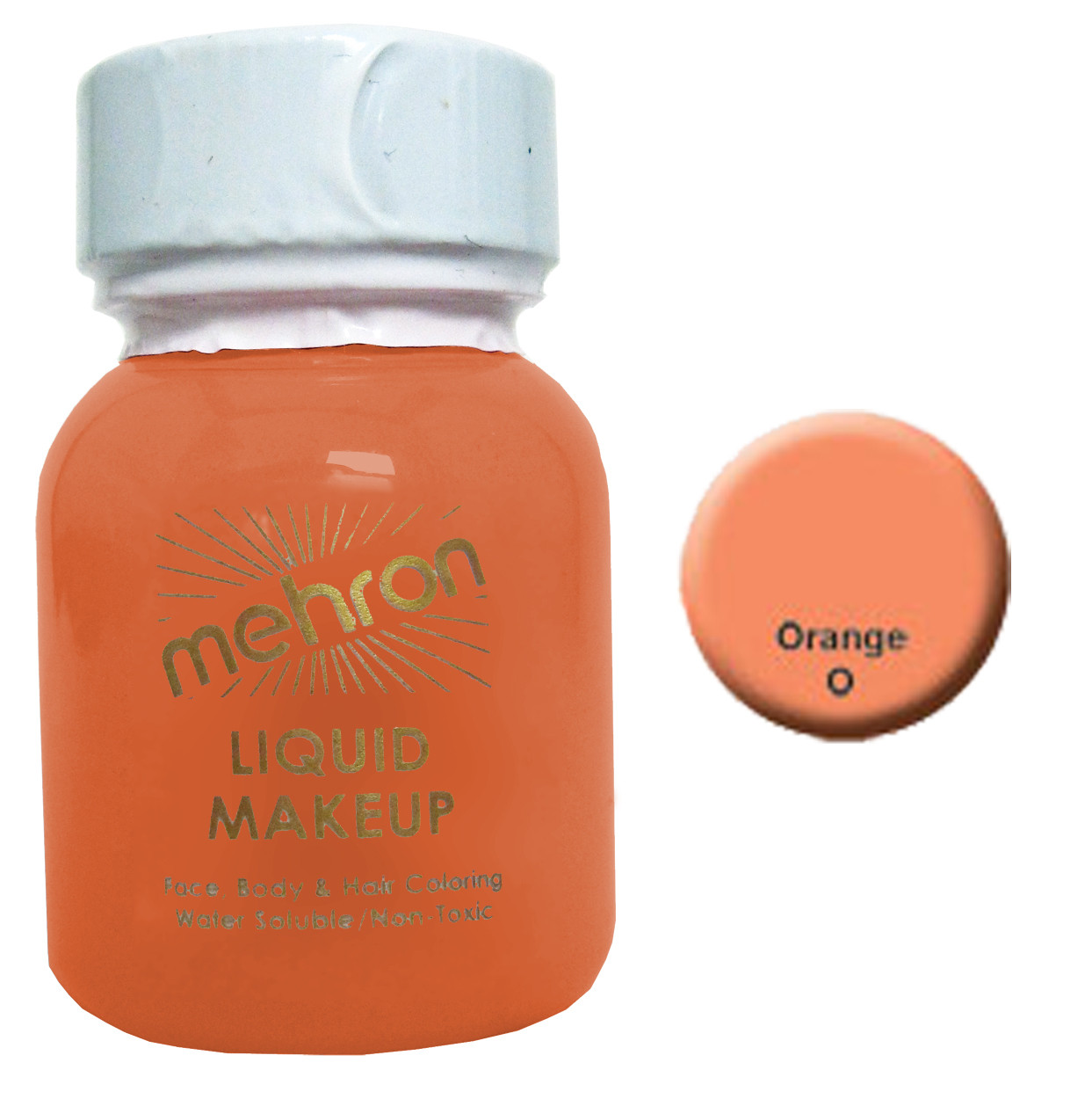 Mehron Liquid Face and Body Painting Makeup 1 oz