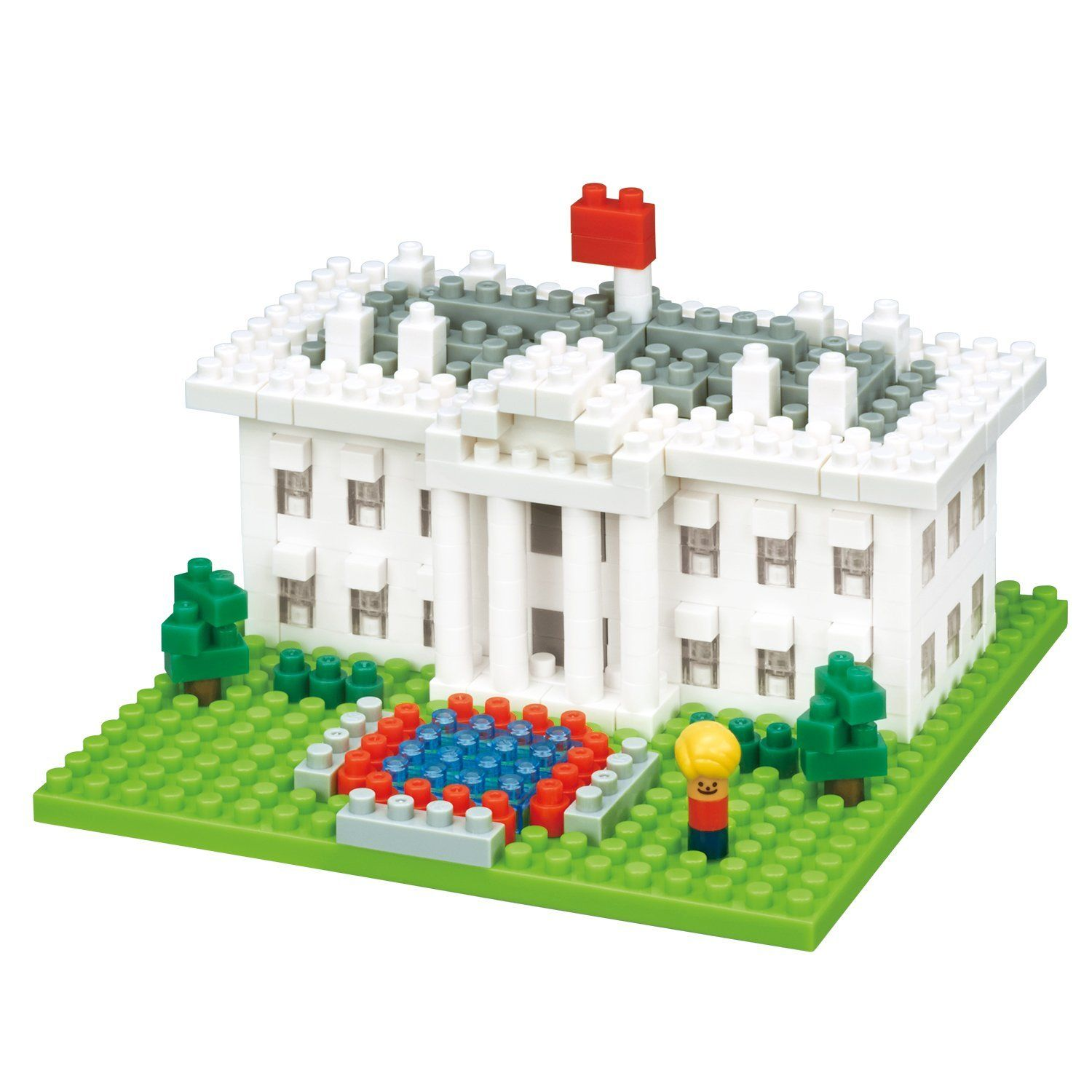 The White House Building Sets by Nanoblock (NBH144) by nanoblock