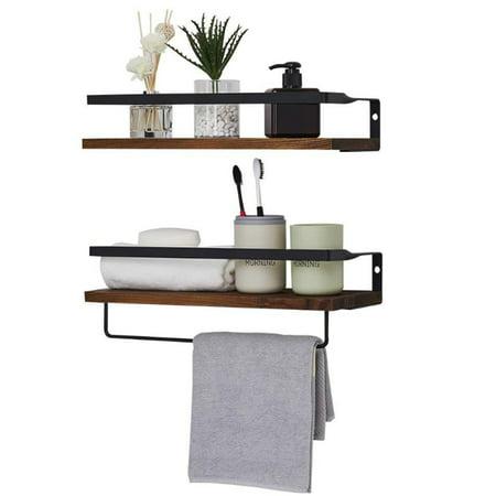 augienb floating shelves, wall mounted bathroom shelf
