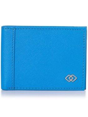 Alpine Swiss Double Diamond Mens RFID Slimfold Wallet Thin Leather Bifold