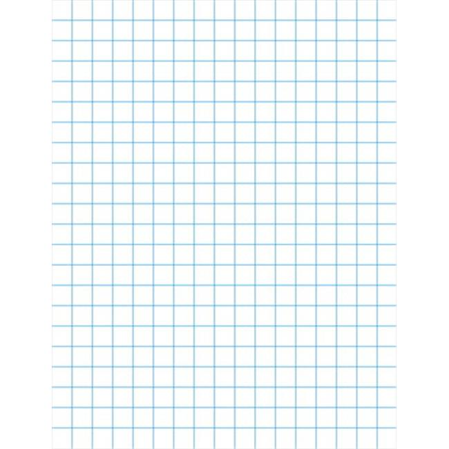 Double Sided Graph Paper With Chipboar, Back