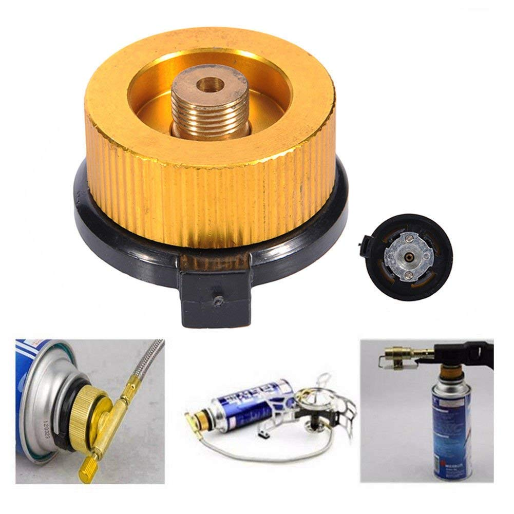 Outdoors Camping Gas Stove Adapter Coupler Picnic Burner Connector Converter