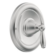 Moen T62151 Single Handle Posi-Temp Pressure Balanced Valve Trim Only from the Brantford Collection (Less Valve), Chrome
