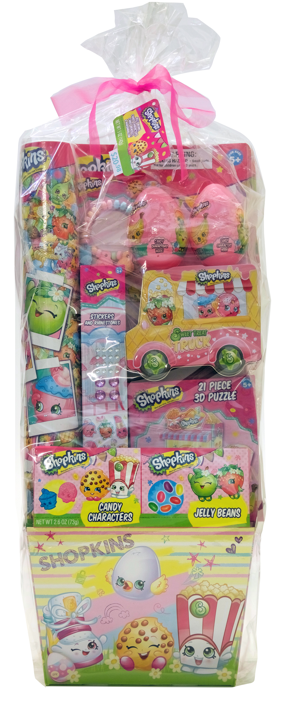 Shopkins Toys and Candy Filled Easter Basket