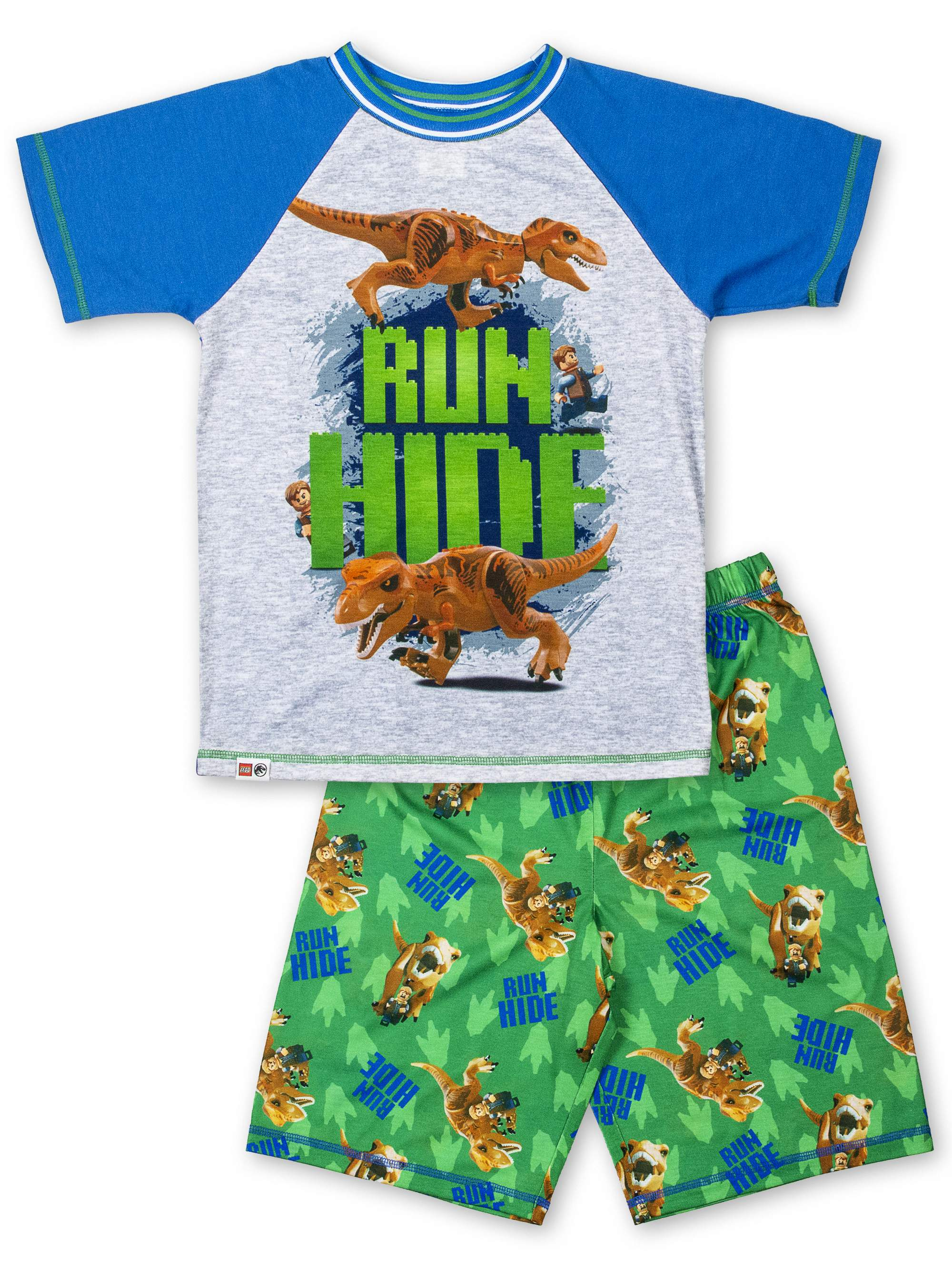 Boys' Jurassic World 2 Piece Pajama Short Set (Little Boy & Big Boy)