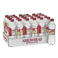 Arrowhead Sparkling Water, Raspberry Lime, 16.9 oz. Bottles (24 Count)