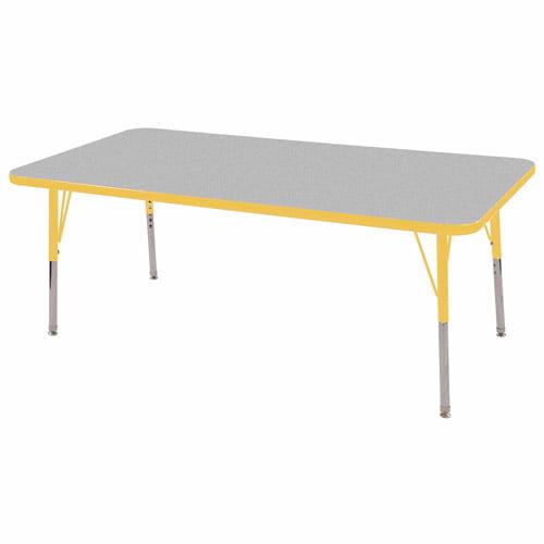 """ECR4Kids Rectangular Table 30""""x60"""""""