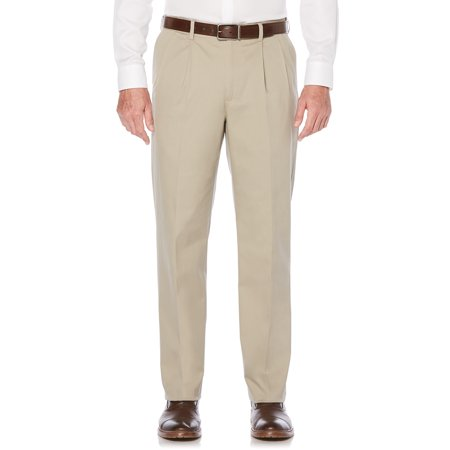 Savane Big & Tall Pleated Ultimate Performance Chino