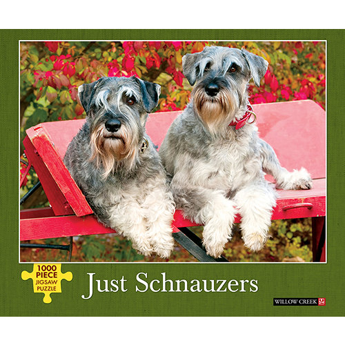 Just Schnauzers 1000 Piece Puzzle