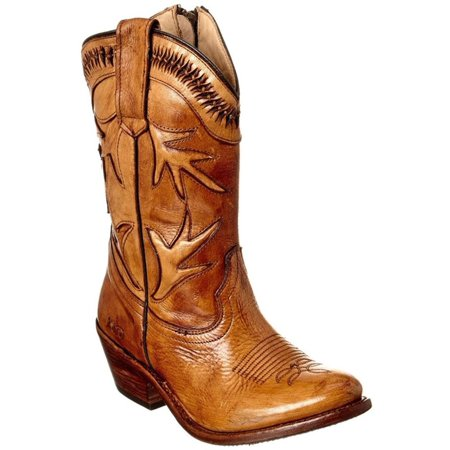 Bed Stu Lancy Womens Windsor Tan Gla Boots