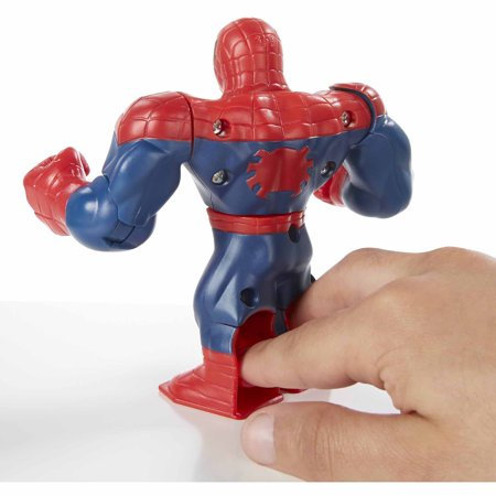 Marvel Battle Masters Spider Man Figure