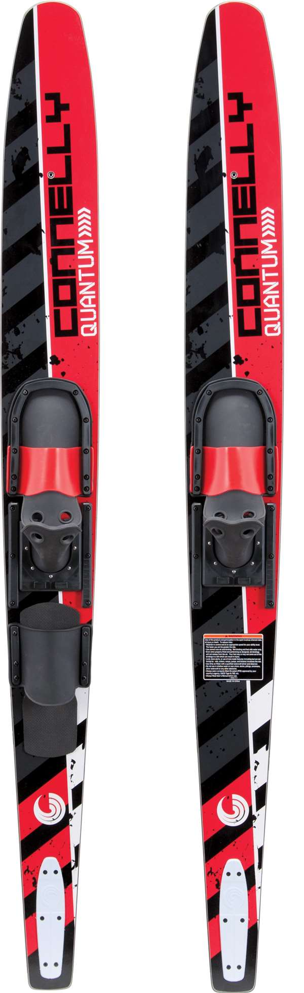 Quantum Slide Adjustable Bindings Connelly Combo Water Skis